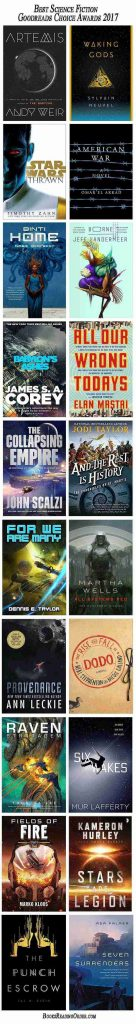 goodreads choice awards 2017 sci-fi