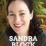 Sandra Block author Zoe Goldman