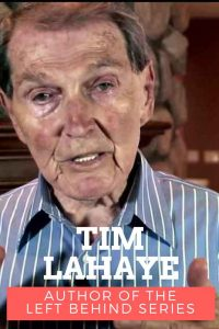 Tim LaHaye author of the Left Behind series