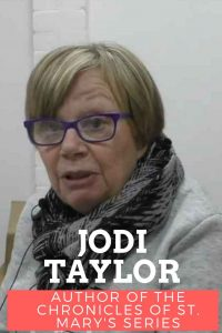 Jodi Taylor time-travel author