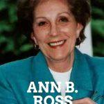 Ann B Ross author of Miss Julia series