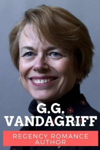 GG Vandagriff author