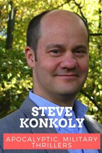 Steve Konkoly author