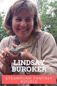 Lindsay Buroker steampunk author