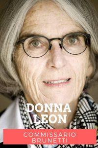 Donna Leon Commissario Brunetti