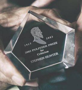 Steven Hunter Pulitzer Prize